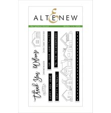 Altenew Clear Stamps 4X6 - Neighborhood