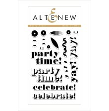 Altenew Clear Stamps 4X6 - Party Time!