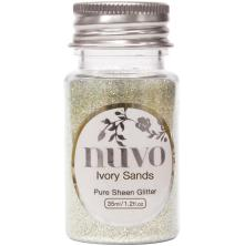 Tonic Studios Nuvo Glitter 35ml - Ivory Sands 1107N