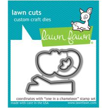 Lawn Fawn Custom Craft Die - One In A Chameleon