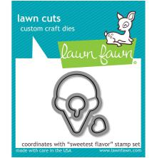 Lawn Fawn Custom Craft Die - Sweetest Flavor