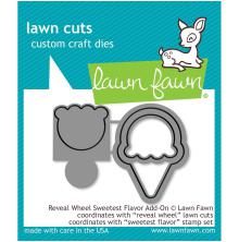 Lawn Fawn Custom Craft Die - Reveal Wheel Sweetest Flavor