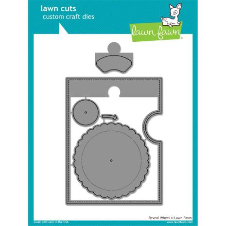 Lawn Fawn Custom Craft Die - Reveal Wheel