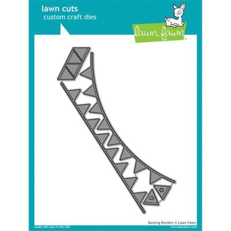 Lawn Fawn Custom Craft Die - Bunting Borders