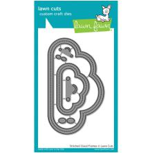 Lawn Fawn Custom Craft Die - Stitched Cloud Frames