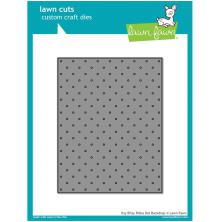 Lawn Fawn Custom Craft Die - Itsy Bitsy Polka Dot Backdrop