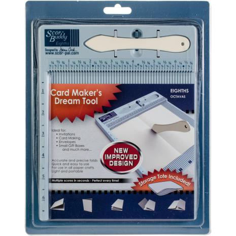 Scor-Buddy Eighths Mini Scoring Board 9x7.5 - Imperial