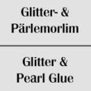 Glitter- & Pärlemorlim