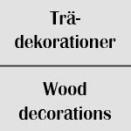 Trädekorationer