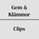 Gem / Klämmor