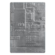 Tim Holtz Sizzix 3-D Texture Fades Embossing Folder - Foundry