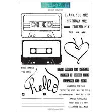 Concord & 9th Clear Stamps 6X8 - Mix Tape