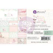 Prima Journaling Cards Pad 4X6 45/Pkg - Santa Baby UTGÅENDE