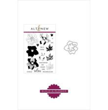 Altenew Clear Stamp And Die Build A flower 6X8 - Larkspur
