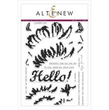 Altenew Clear Stamps 6X8 - Cross Stitch Flower