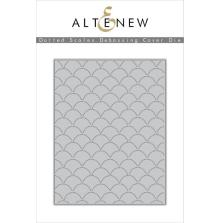 Altenew Die Set - Dotted Scales Debossing Cover