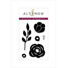 Altenew Clear Stamps 2X3 - Floral Elements