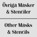 Övriga Masker & Stenciler