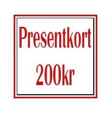 Presentkort 200kr