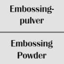 Embossingpulver