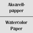 Akvarellpapper