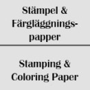 Stämpel- och Färgläggningspapper