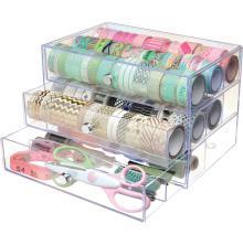 Deflecto Washi Tape Storage Cube - Clear