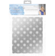 Sara Signature Collection Winter Wonderland - A4 Luxury Printed Acetate