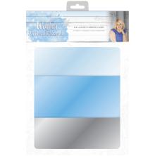 Sara Signature Collection Winter Wonderland - A4 Luxury Mirror Card
