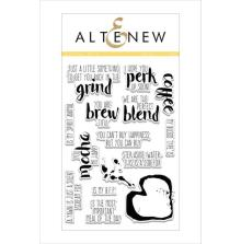 Altenew Clear Stamps 4X6 - Coffee Talk