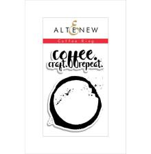 Altenew Clear Stamps 2X3 - Coffee Ring