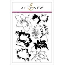 Altenew Clear Stamps 6X8 - Crown Bloom