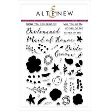 Altenew Clear Stamps 6X8 - Bride-To-Be