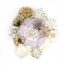 Prima Paper Flowers 16/Pkg