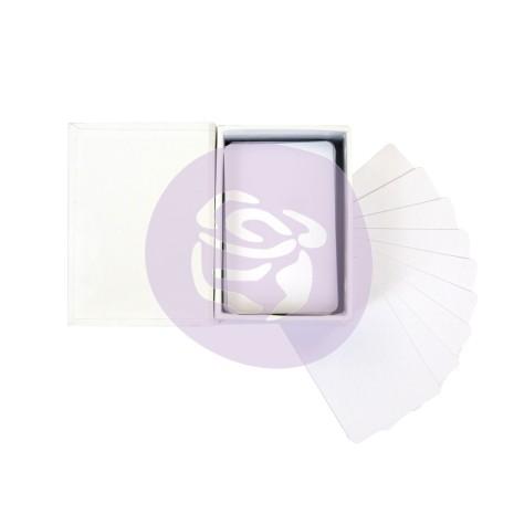 Prima Altered Card Set - White