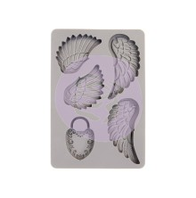 Prima Silicone Mould - Wing & Locket