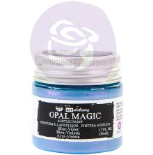 Prima Finnabair Art Alchemy Acrylic Paint 50ml - Opal Magic Blue-Violet
