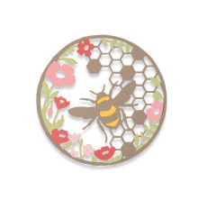 Sizzix Thinlits Die Set 2PK - Honey Bee