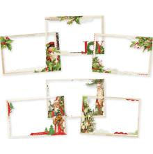 Simple Stories Transparencies 4X6 6/Pkg - Simple Vintage Christmas