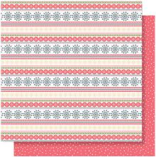 Simple Stories Freezin Season Double-Sided Cardstock 12X12 - Sweater Weather