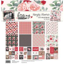 Simple Stories Collection Kit 12X12 - Kissing Booth UTGÅENDE