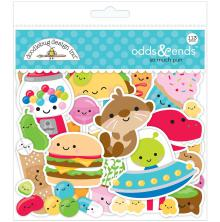 Doodlebug Odds & Ends Die-Cuts 113/Pkg - So Much Pun
