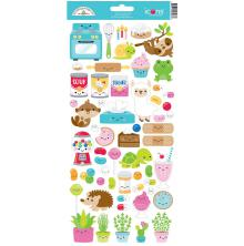 Doodlebug Cardstock Stickers - So Much Pun Too Icons