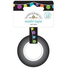 Doodlebug Washi Tape 15mmX12yd - Night Lights