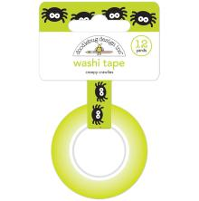 Doodlebug Washi Tape 15mmX12yd - Creepy Crawlies