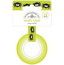 Doodlebug Washi Tape 15mmX12yd - Creepy Crawlies