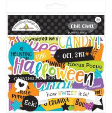 Doodlebug Odds & Ends Die-Cuts 94/Pkg - Pumpkin Party Chit Chat