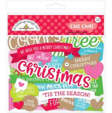 Doodlebug Odds & Ends Die-Cuts 110/Pkg - Christmas Town Chit Chat