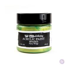 Prima Finnabair Art Alchemy Acrylic Paint 50ml - Sparks Fairy Wings