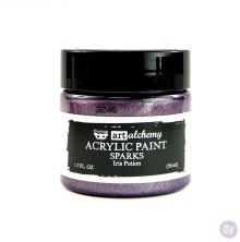 Prima Finnabair Art Alchemy Acrylic Paint 50ml - Sparks Iris Potion